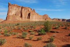 Formaciones de roca del desierto Imagen de archivo libre de regalías