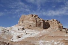 Formaciones de roca del valle de la luna Imágenes de archivo libres de regalías