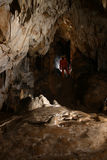 Formaciones de roca dentro de una cueva Imagen de archivo
