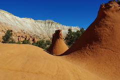 Formaciones de roca determinadas, Utah Foto de archivo