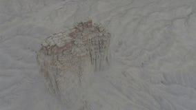 Formaciones de roca en Colorado occidental almacen de metraje de vídeo