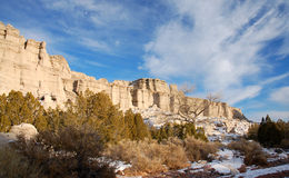 Formaciones de roca en el Blanca de la plaza Fotografía de archivo