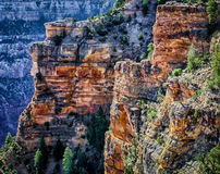 Formaciones de roca en el borde del sur Imagen de archivo