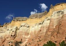 Formaciones de roca en New México Fotos de archivo libres de regalías