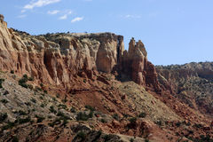 Formaciones de roca en New México Imagen de archivo libre de regalías