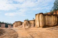 Formaciones de roca en Tailandia Foto de archivo libre de regalías
