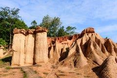 Formaciones de roca en Tailandia Fotos de archivo libres de regalías