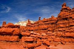 Formaciones de roca en valle del duende Fotos de archivo libres de regalías
