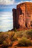 Formaciones de roca en valle del monumento Foto de archivo libre de regalías