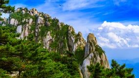 Formaciones de roca infrecuentes Foto de archivo libre de regalías