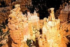 Formaciones de roca majestuosas en Bryce Canyon N P Imagen de archivo