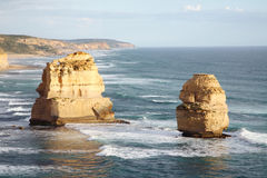 Formaciones de roca naturales Imagen de archivo libre de regalías