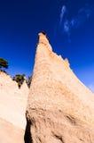 Formaciones de roca Paisaje lunar Fotos de archivo