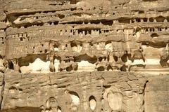 Formaciones de roca resistidas Foto de archivo