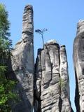 Formaciones de roca Skalne Mesto Fotos de archivo libres de regalías