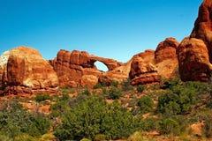 Formaciones de roca Utah Imagen de archivo