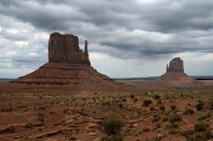 Formaciones del valle del monumento Foto de archivo