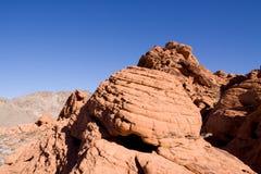 formacj czerwieni skała Zdjęcie Stock