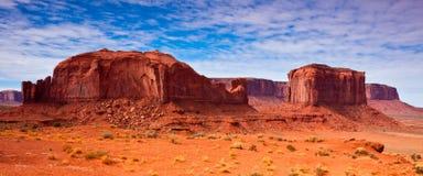 formacj panoramy skała Fotografia Stock