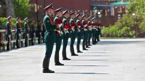 Formacja żołnierze zdjęcie wideo