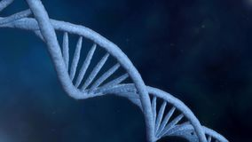 Formacja DNA Wirujący DNA pasemka gromadzić od indywidualnych elementów pojęcie target268_1_ genetyczny naukowego zbiory