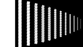 Formacja elementy dla przemiany, wysocy definici CGI ruchu tła idealni dla redagować ilustracji