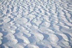 formacja śnieg Obraz Royalty Free