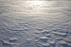 formacja śnieg Obrazy Royalty Free
