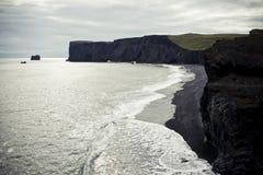 formacje ja myrdal rockowy vik zdjęcie stock