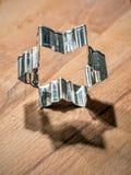 formad stjärna för kaka skärare royaltyfri fotografi