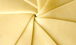 formaggio affettato Fotografia Stock Libera da Diritti