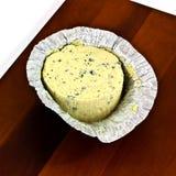 Formaggio blu a pasta molle Fotografia Stock