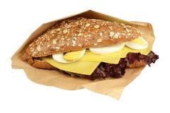 Formaggio del panino. Fotografia Stock Libera da Diritti