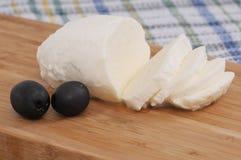 Formaggio della mozzarella Fotografia Stock