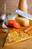 Formaggio della pizza Immagine Stock