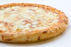 Formaggio della pizza per gli amanti Fotografia Stock Libera da Diritti
