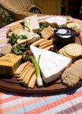 formaggio della scheda fotografia stock libera da diritti