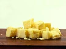 Formaggio di formaggio cheddar Fotografie Stock Libere da Diritti