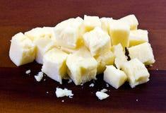 Formaggio di formaggio cheddar Immagini Stock Libere da Diritti