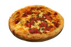 Formaggio di Quattro della pizza Immagini Stock