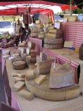 Formaggio e salsiccie Immagine Stock