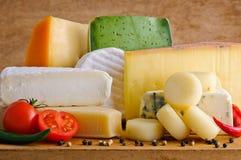 Formaggio gastronomico Fotografia Stock