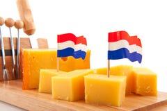 Formaggio olandese Immagine Stock