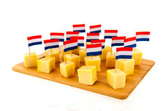 Formaggio olandese Fotografie Stock
