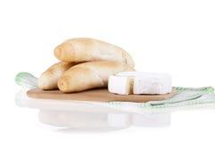 Formaggio squisito del camembert Immagini Stock