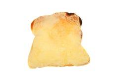 Formaggio su pane tostato immagine stock libera da diritti