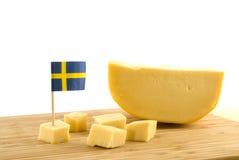 Formaggio svedese Fotografia Stock Libera da Diritti