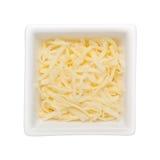 Formaggio tagliuzzato della mozzarella Fotografie Stock