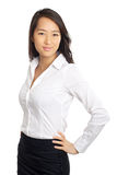 Formal Asian Business Woman Stock Photo