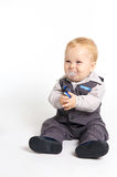 Formal baby Royalty Free Stock Image